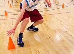 Basketball trainings and competitions in Spain on basketball camp in Barcelona