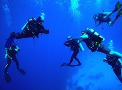 Activities in Barcelona - Teambuilding in Barcelona - Scuba Diving