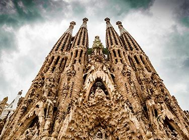 Attractions in Barcelona - Sightseeing in Barcelona - La Sagrada Familia