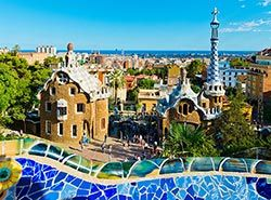 Attractions in Barcelona - Park Guell