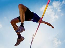 Trainings and athletics competitions in Barcelona