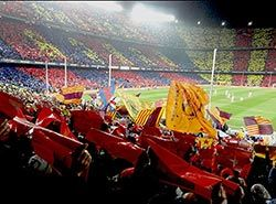 Get tickets for FC Barcelona football matches on football camp in Barcelona