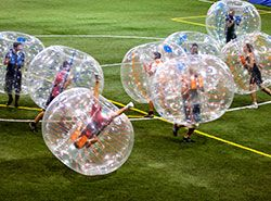 Barcelona Activities - Teambuilding Activities - Bubble Football in Barcelona