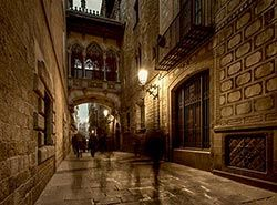 Attractions in Barcelona - Barri Gotic