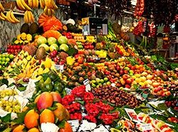 Attractions in Barcelona - La Boqueria