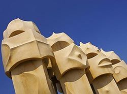 Attractions in Barcelona - La Pedrera