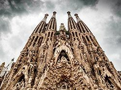 Attractions in Barcelona - La Sagrada Familia
