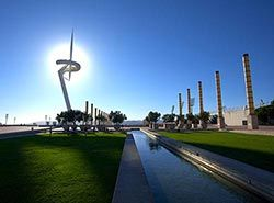 Attractions in Barcelona - Montjuic