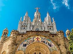 Attractions in Barcelona - Tibidabo