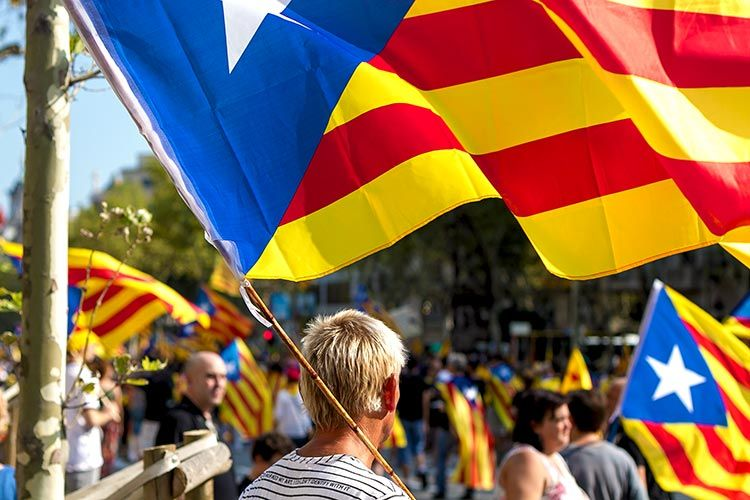 Fight for independence in Catalonia