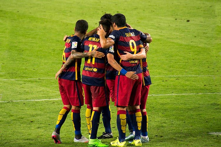 Joan Gamper Tournament with FC Barcelona