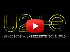 Video preview from U2's innocence and experience tour