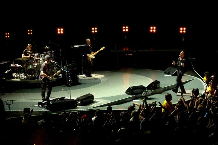 U2 Concert in Barcelona, Spain