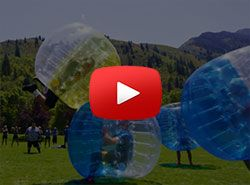 Play Bubble Football or Bubble Soccer in Barcelona, Spain