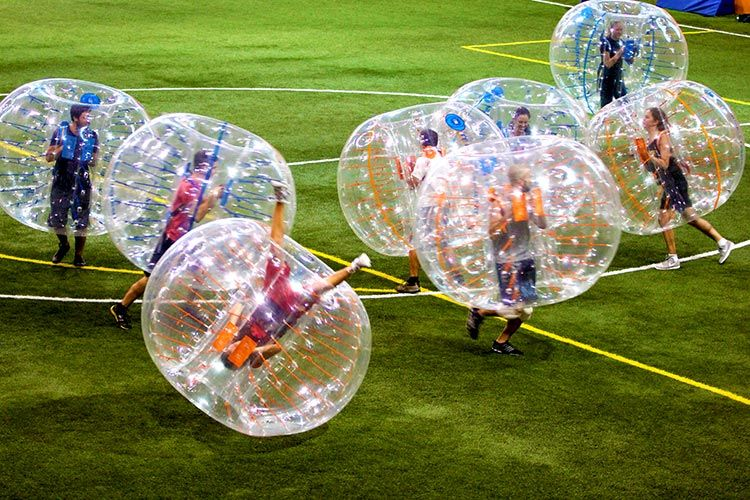 Bubble football - Excellent teambuilding in Barcelona