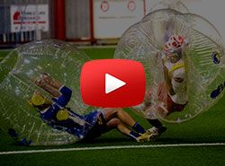 Funny video of Bubble football match - Now you can play bubble soccer too!